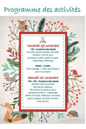 Programme Marché Noel MSA Nov2019